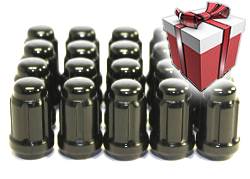 Гайки колесные стальные Short Closed End Spline Drive Lug Nut Set with Key Muteki