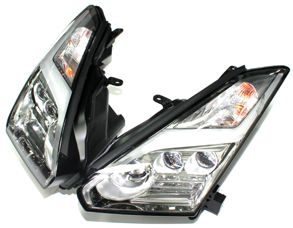 В оптике NISSAN GT-R 2015 года применены передовые технологии диодного  света. 2879ea109ed4e